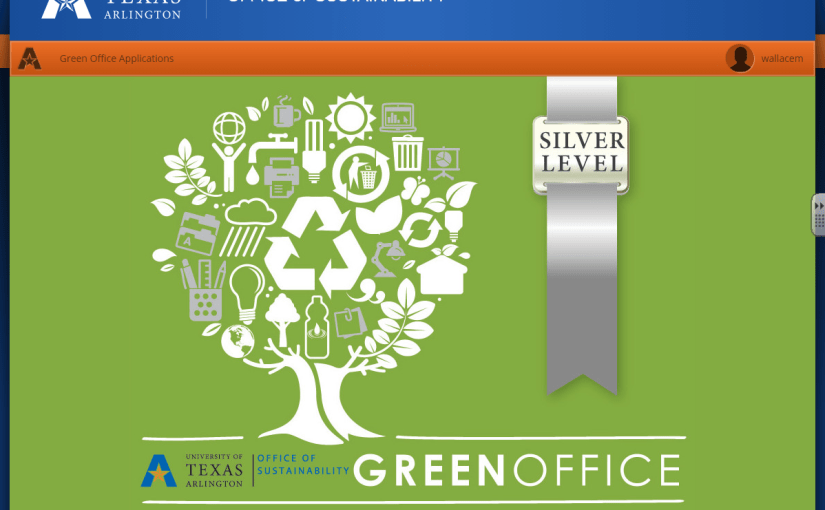 Green Office Program at UTA Libraries