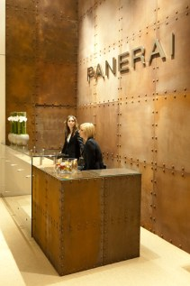 Panerai booth at SIHH