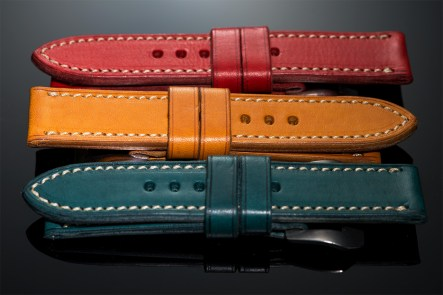 Various leather straps for Panerai