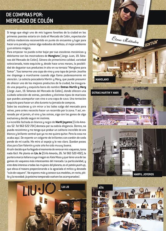 Ostras de Martin y Mary en la revista Valencia City