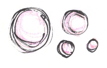 Bubbles for feature