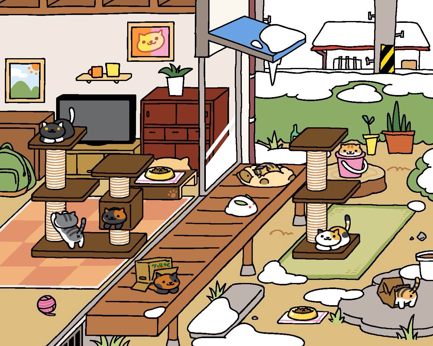 The Six Stages Of Playing Neko Atsume Kitty Collector