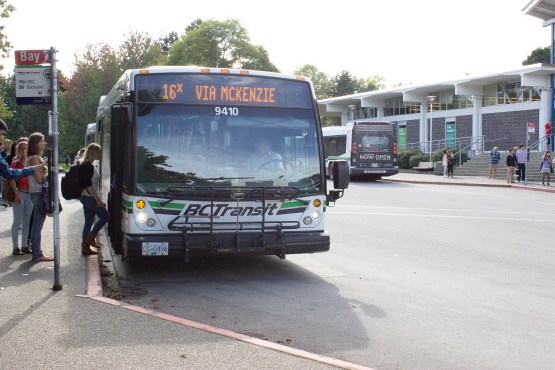 You'll never have to wonder where your bus is again thanks to new updates to the Transit mobile app. File photo by Janine Crockett