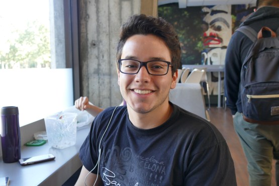 Ricardo Chacon, second-year Political Science student
