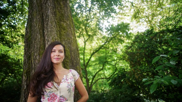 Melina Laboucan-Massimo, another UVic alumni, who will continue working against climate change during her fellowship. Photos provided by the David Suzuki Foundation