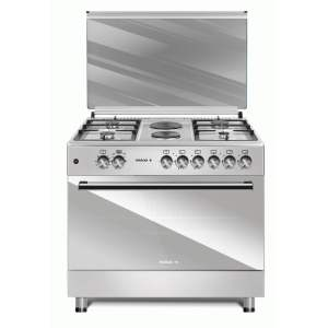 MAXI Gas Cooker Style 60 * 90 TR (4+2) INOX