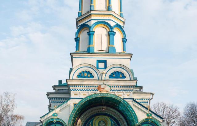 Minunea bisericii profetului Ilie din Cernobâl