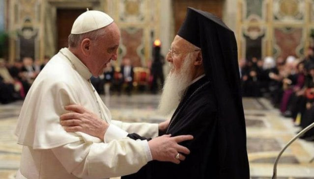 CONDUCĂTORUL FANARULUI: Cei care numesc ecumenismul  erezie,  rup unitatea Bisericii!