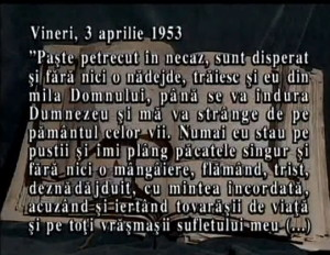 Vasile Motrescu in Jurnalul sau despre Sfintele Pasti 1953