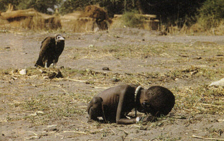 Pulitzer Prize photograph Kevin Carter Sudan