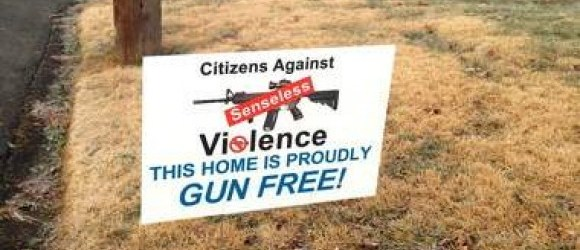 this home proudly gun free