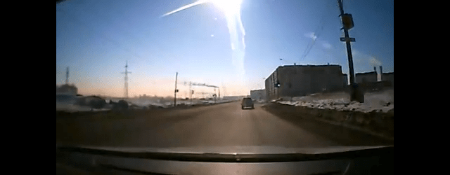 meteor over russia