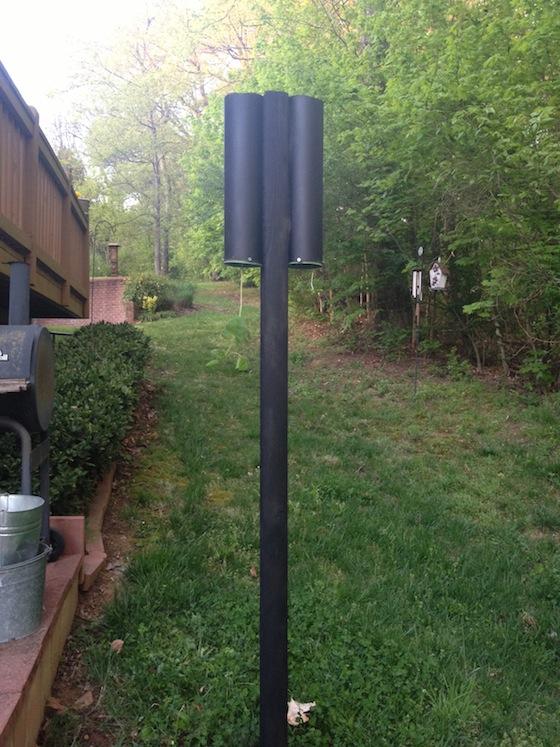 DIY Topsy Turvy planter