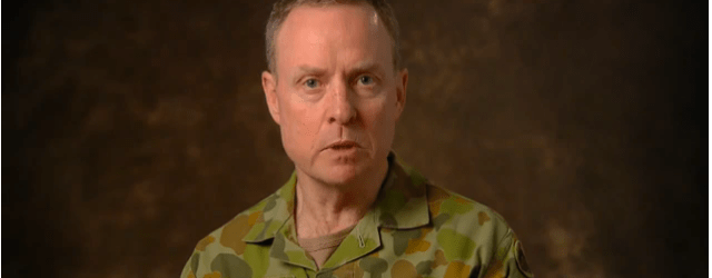 Chief of Army Lt Gen David Morrison, Australia