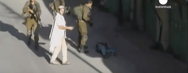 Palestinian shot during knife attack