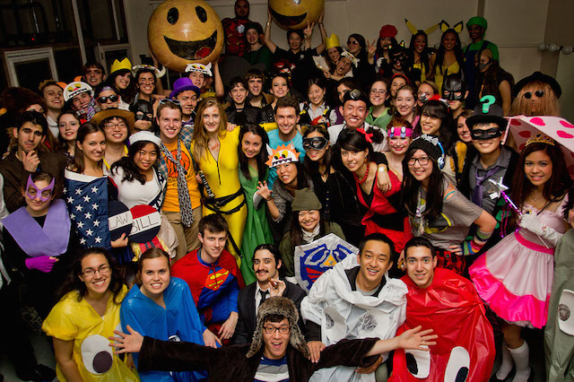 yale halloween party