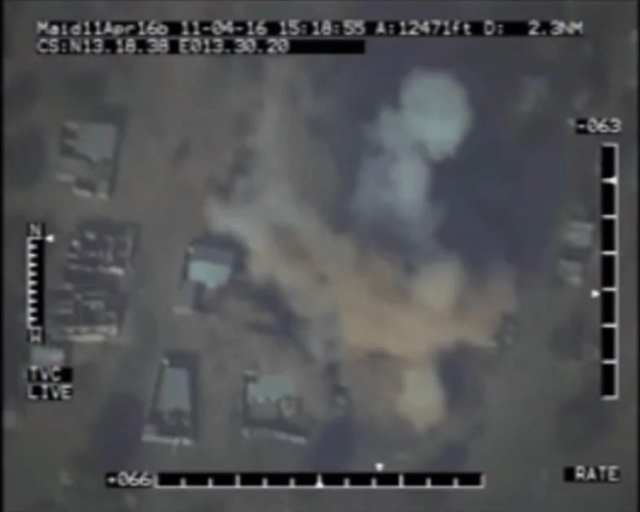 Boko Haram bombed by Nigerian Air Force