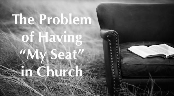saving a seat in church Bible