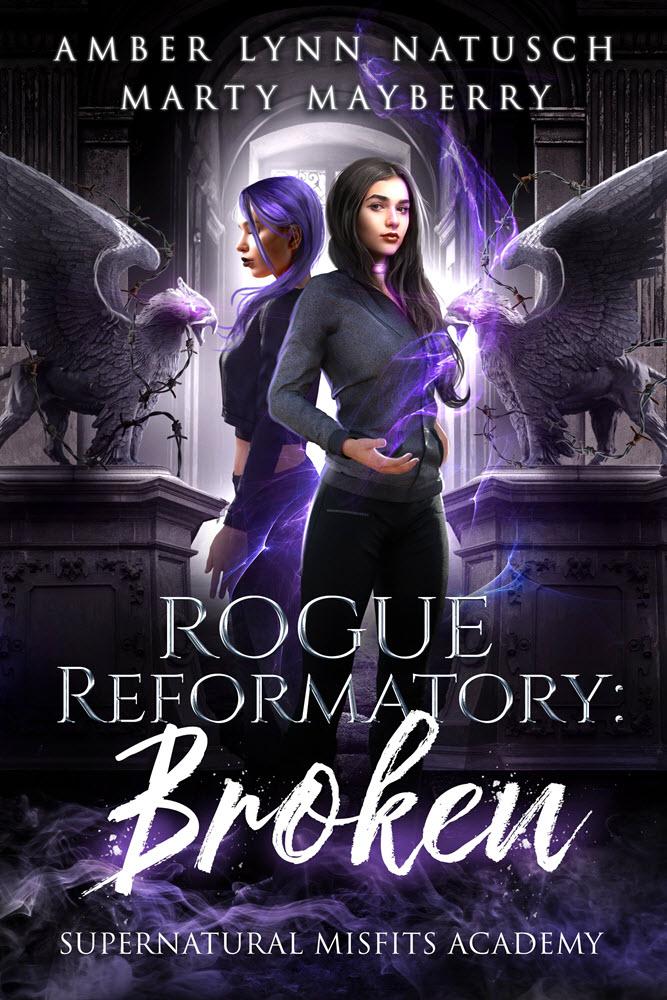 Book Cover: Rogue Reformatory: Broken
