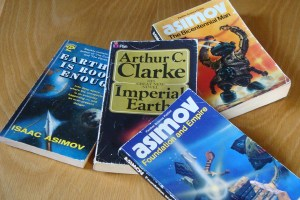 Old science fiction books