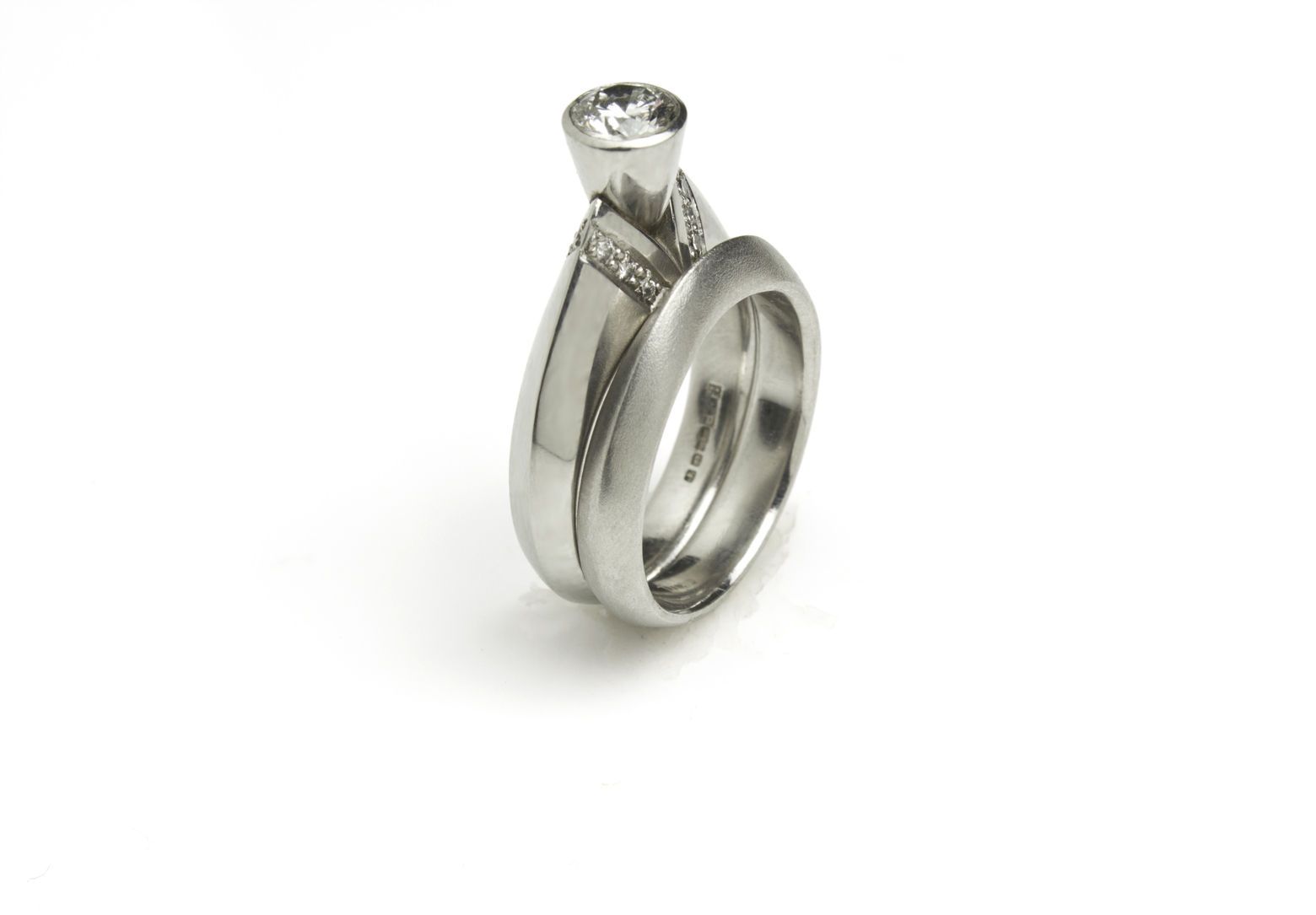 ART Peak Plain Ring