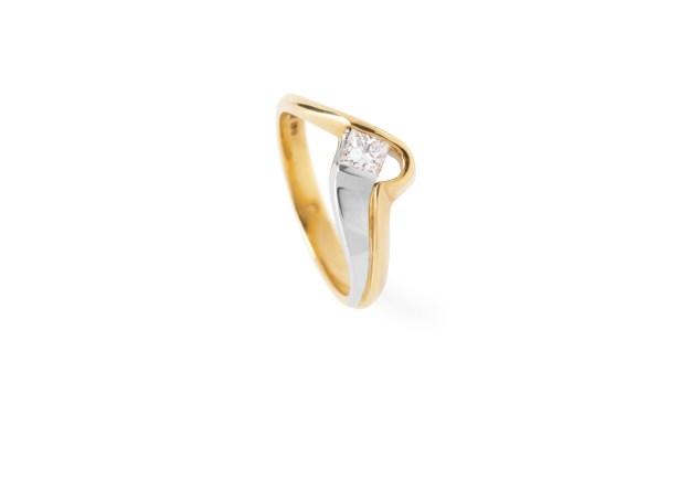 Radiant Solitaire Diamond Ring