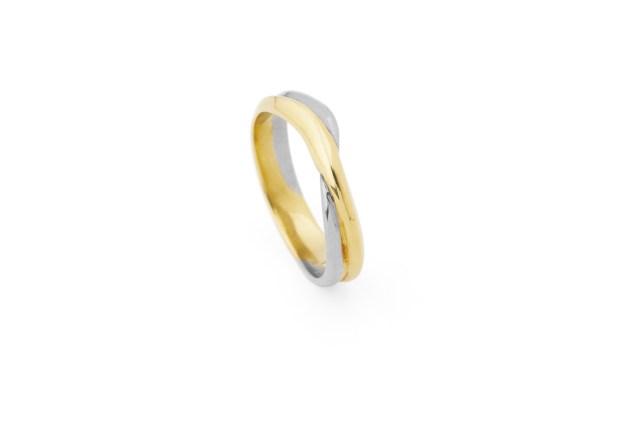 Radiant Gold Ring