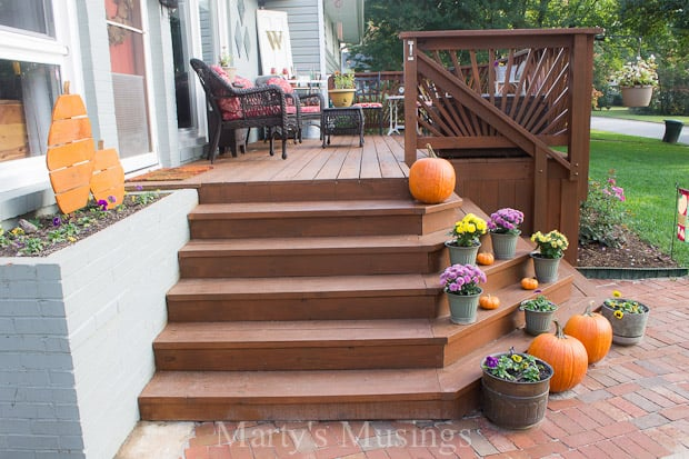 Stain Your Wood Deck on Back Deck Ideas For Ranch Style Homes  id=46045