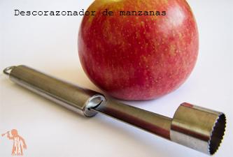 Descorazonador de manzanas