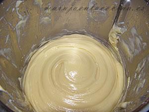 Pasta choux terminada
