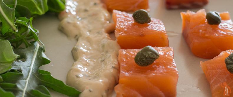 Cómo preparar salmón marinado