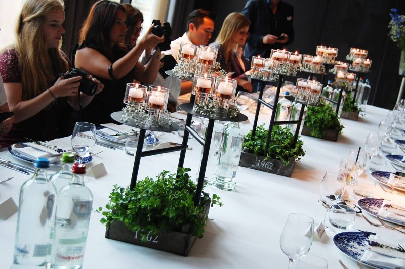 The grand blogger dinner in het conservatorium hotel