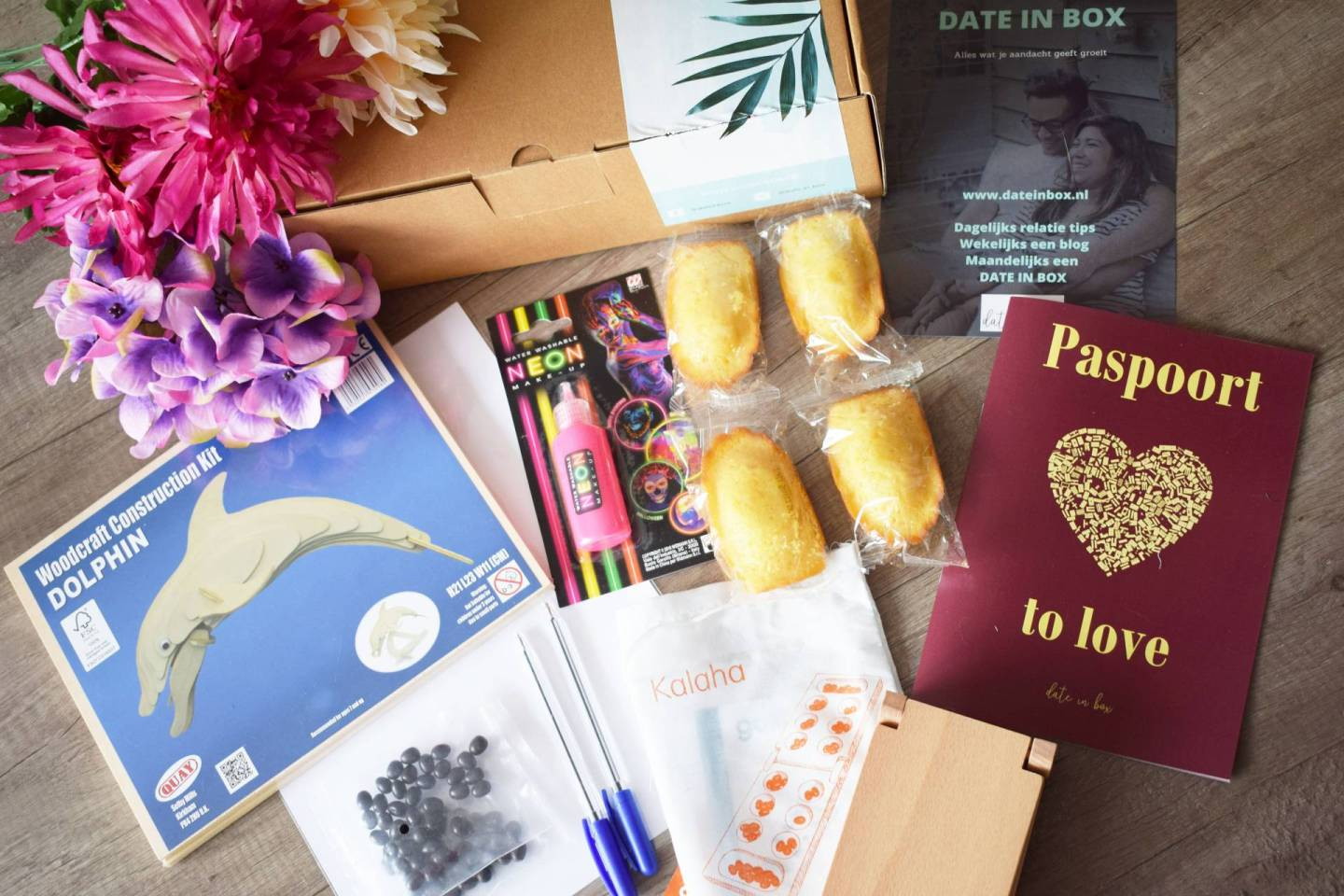 Unboxing | Date in Box -Paspoort to love