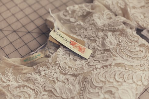 Alencon lace leotard mehri