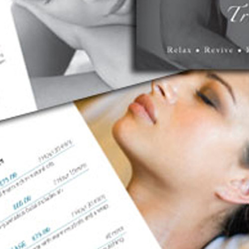beauty treatment brochures