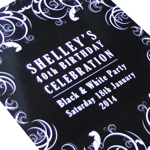 Print Design Event Invitations