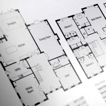 Property Brochure, floorplans, advertising