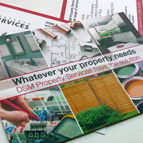 Property Services Postcard