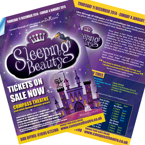 theatre leaflets