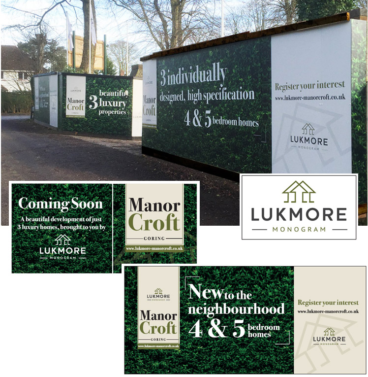 Property Development Hoardings designed