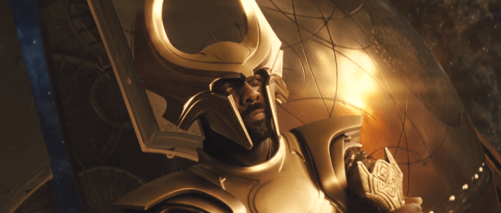 Idris Elba as Heimdall in Thor (2011)
