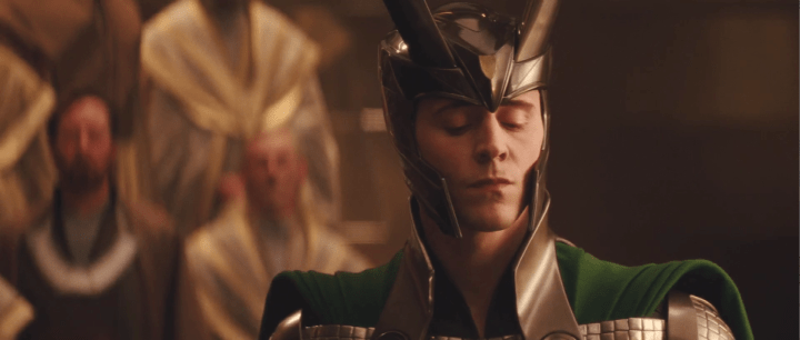 Tim Hiddleston as Loki in Thor (2011)