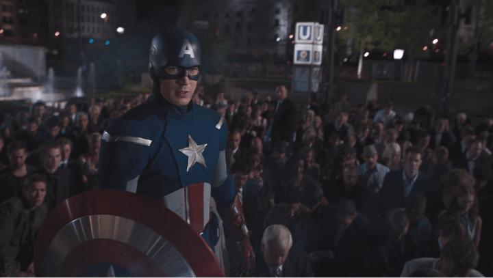 Captain America Mark 2 in The Avengers (2012)