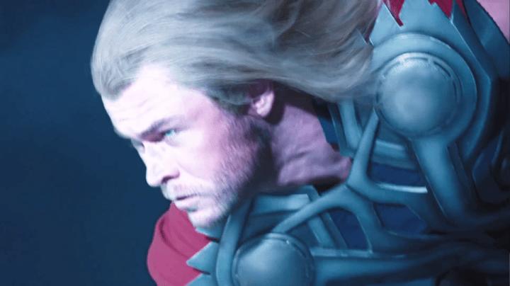 Chris Hemsworth as Thor in The Avengers (2012)