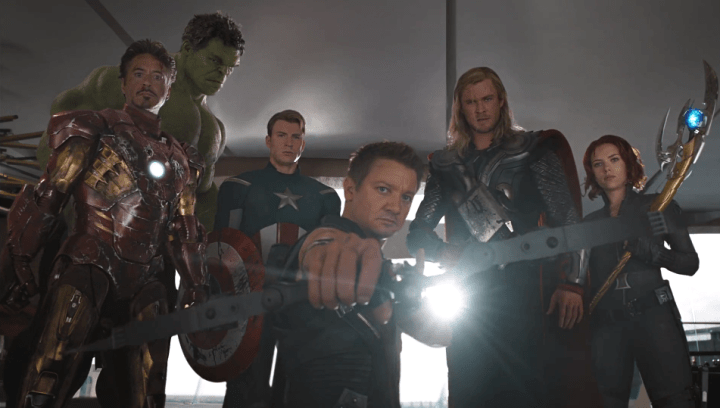 The Avengers in The Avengers (2012)