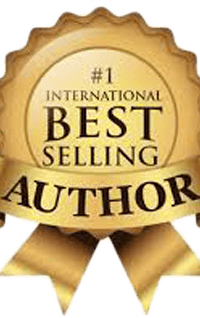 Best selling author badge.
