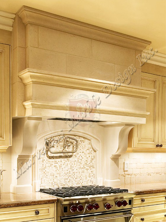 Stone Kitchen Hood Limestone Hood Marvelous Marble