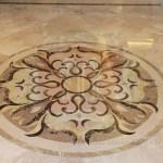 5ft Round Marble Floor Medallion Marvelous Marble
