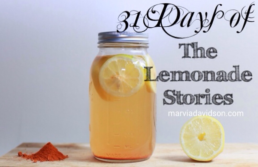 31 Days of Lemonade Stories {The October 2015 #Write31DaysSeries}