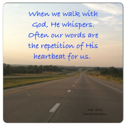 gods heartbeat for us by marvia davidson
